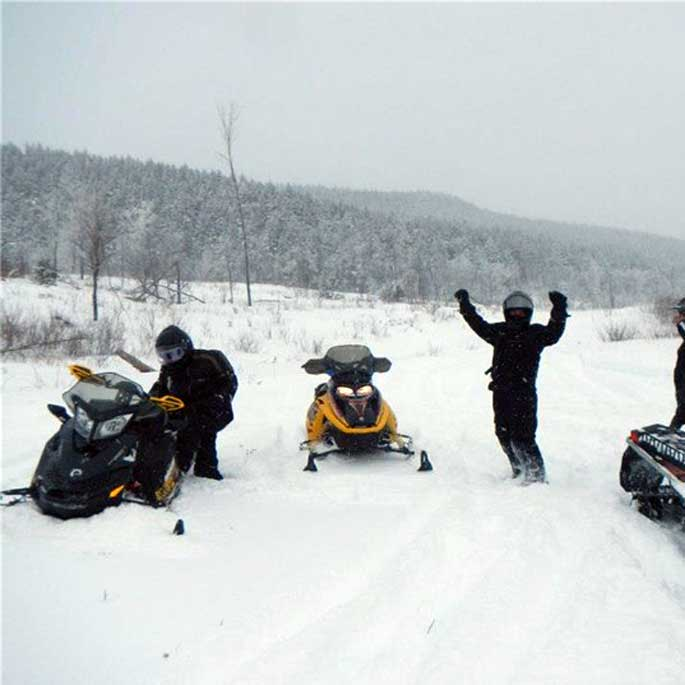 Maine Snowmobile Trails