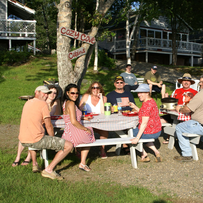 Family reunion in Maine